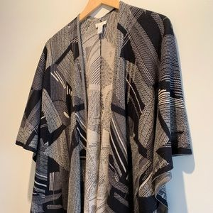 Open cut shawl/sweater/drape - great for layering
